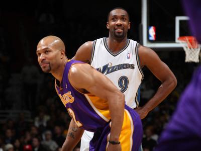 Derek Fisher, Gilbert Arenas, Lakers, Agent Zero, Hibachi, Fisher trade, Lakers trade, Arenas Lakers