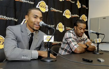 Ramon Sessions, Jordan Hill, Derek Fisher trade, Lakers trade