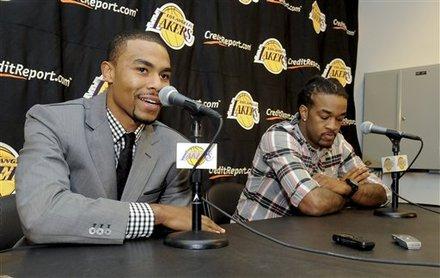 Ramon Sessions, Jordan Hill, Derek Fisher trade, Lakers trade