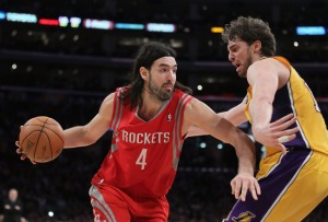 Pau Gasol, Luis Scola, Gasol trade, Pau Gasol trade, Lakers Rockets trade